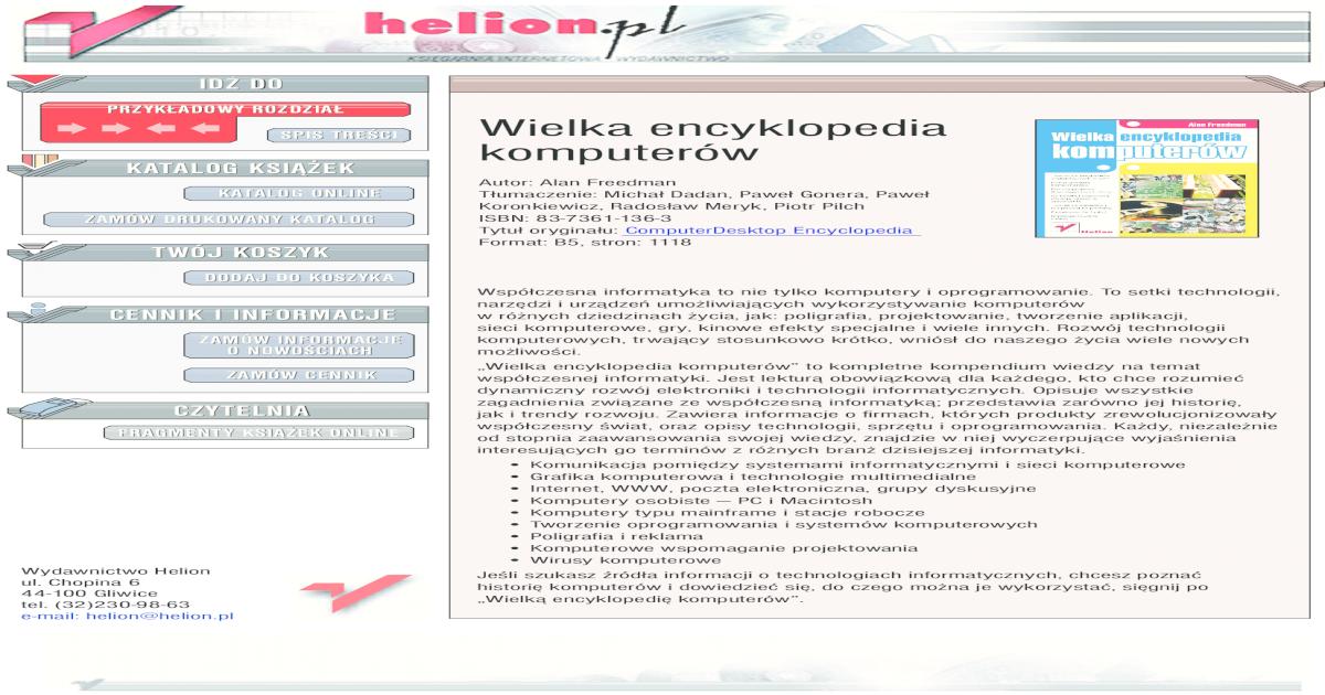 encyklopedia komputerw pdf document