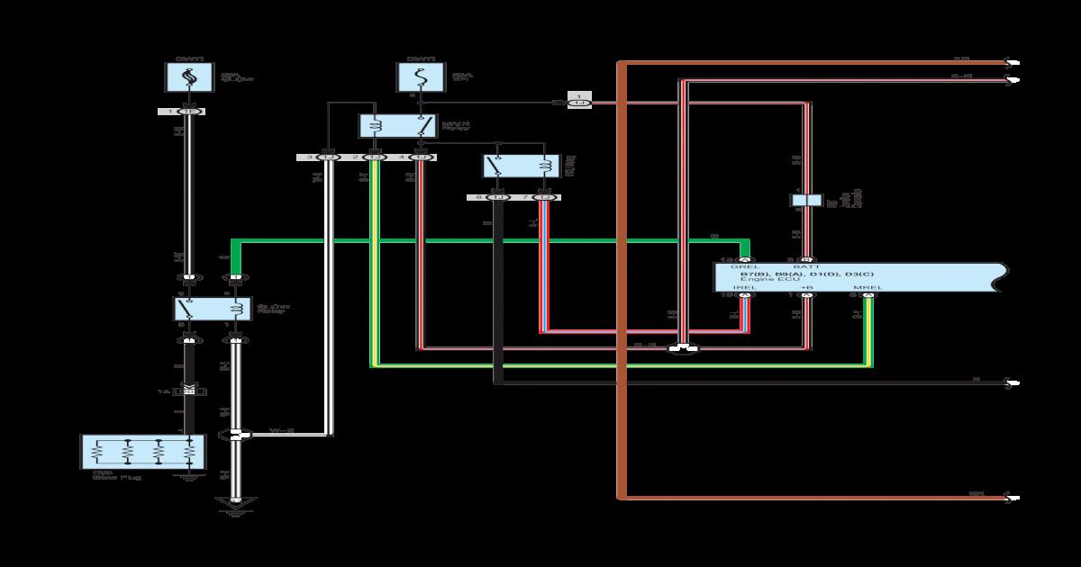 wiring diagram ecu 2kd ftv pdf document rh vdocuments mx 2G DSM ECU Pinout BMW E46 Stereo Wiring Diagram