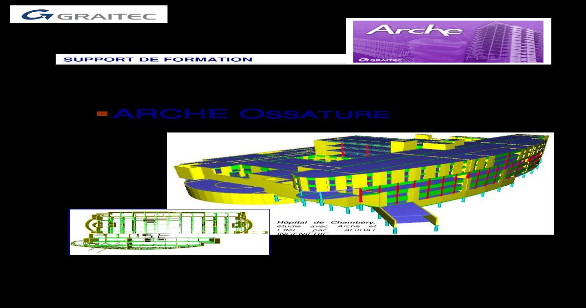 arche ossature