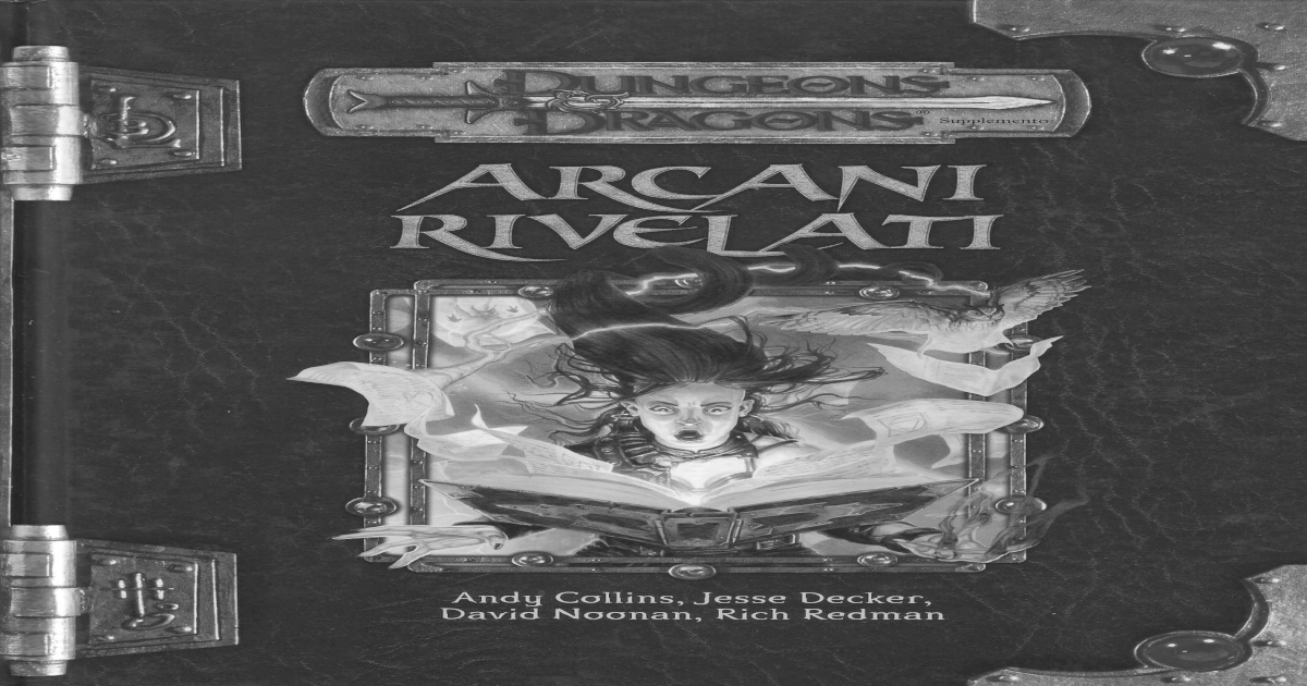 D&d 3.5e ita] arcani rivelati [pdf document]