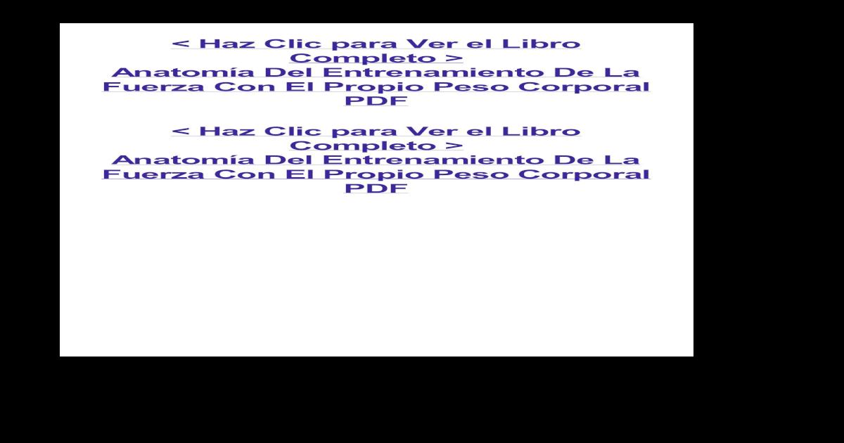 Atractivo Anatomía De Entrenamiento De La Fuerza Opinión Imagen ...
