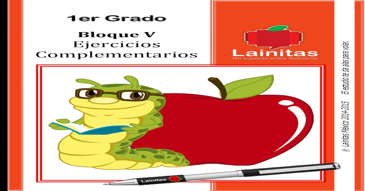 1er Grado - Ejercicios Complementarios - [PDF Document]