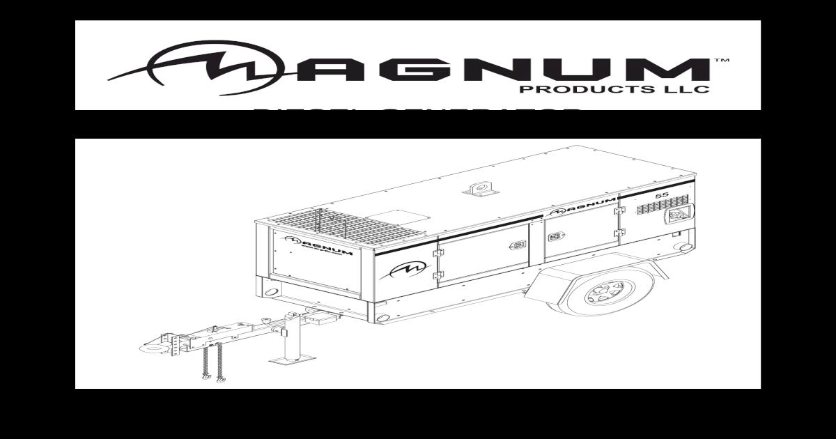 magnum diesel generator operating manual mmg 35 55 80 80p  download pdf Denyo Generator Logo 45 KVA Denyo Generator Parts