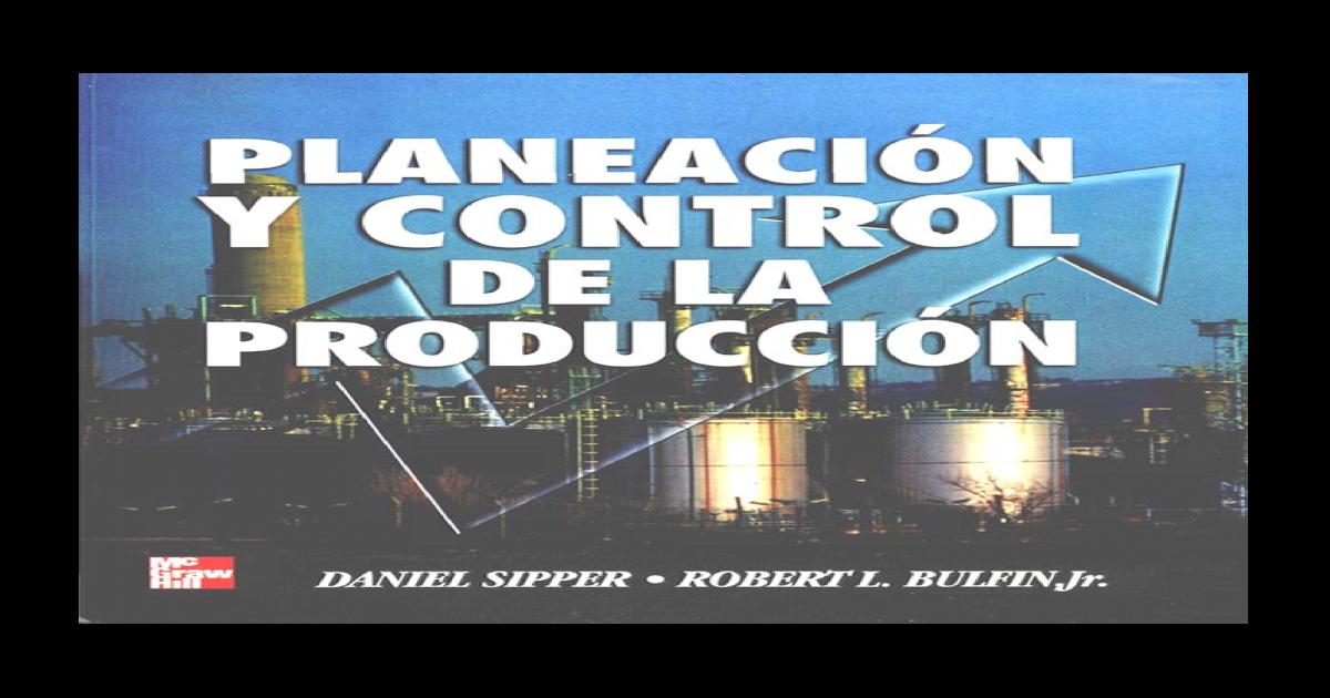 dfbca33bba Planeacin y Control de la Produccin. Sipper - [PDF Document]