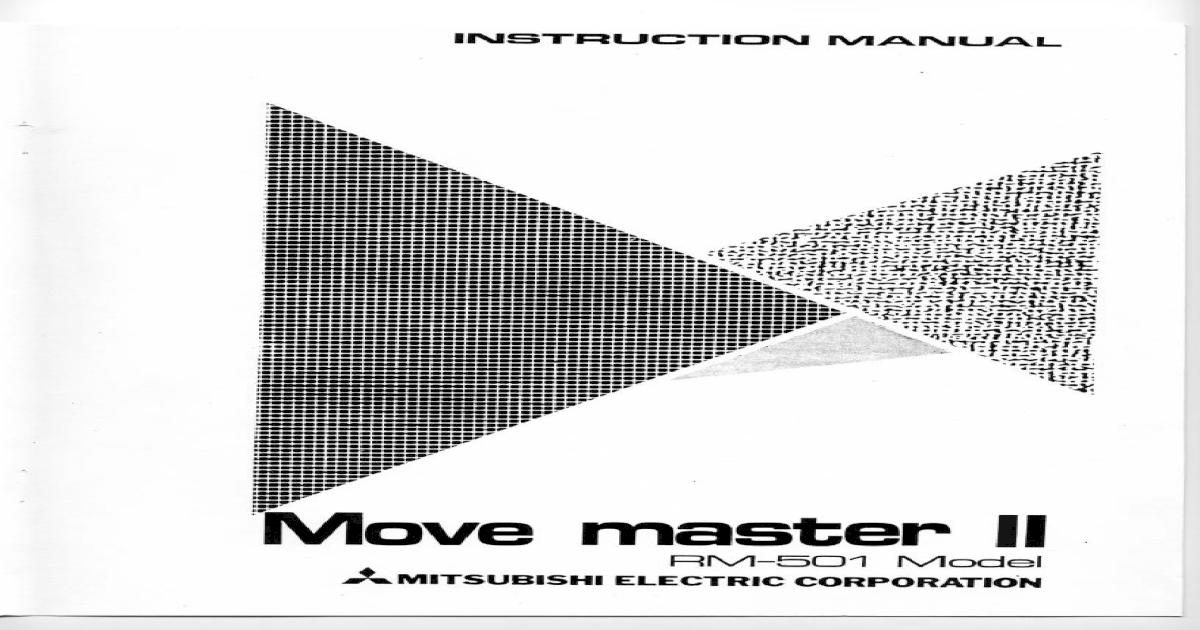 mitsubishi z300 manual