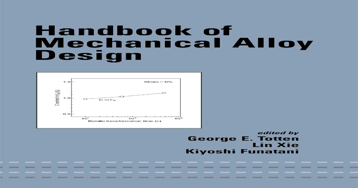 Handbook of mechanical alloy design pdf document fandeluxe Image collections