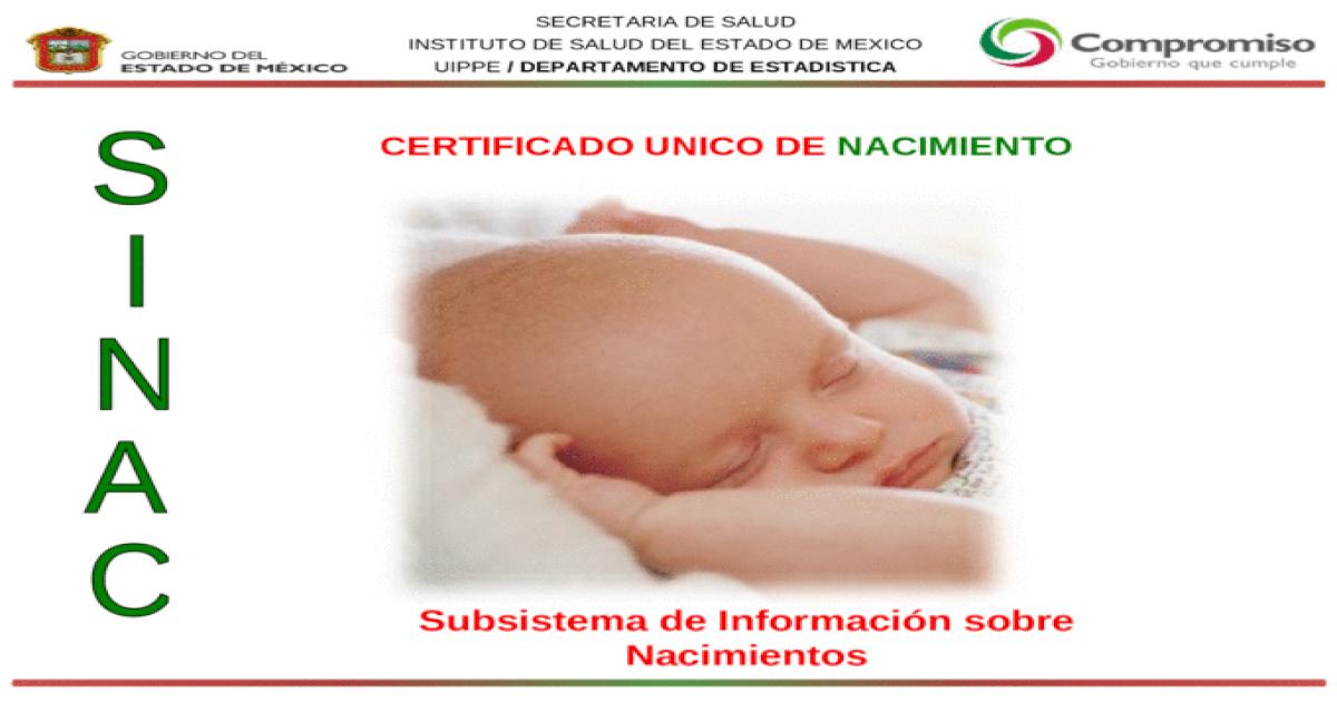 Perfecto Certificado De Nacimiento Estadística Vital Bc Foto ...