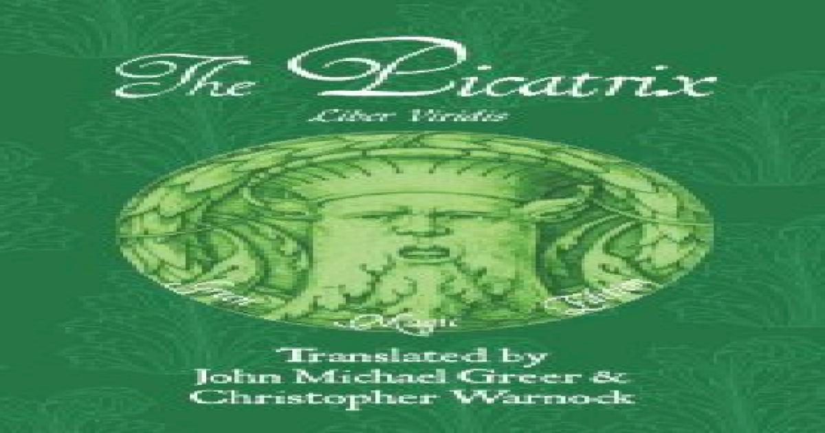 picatrix pdf english free download