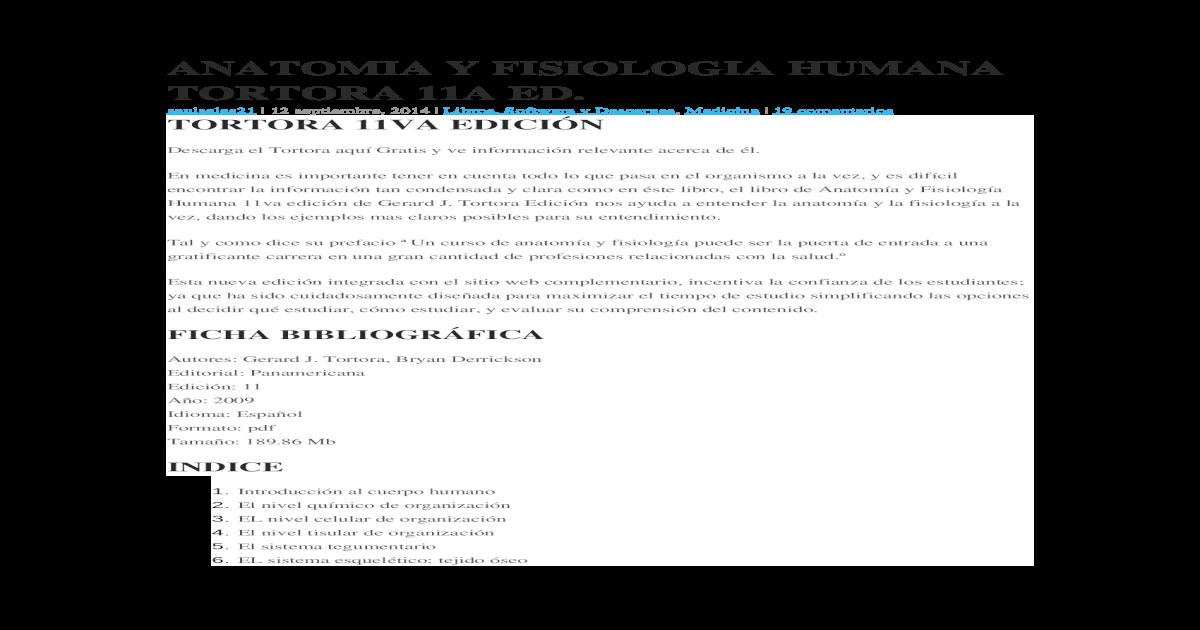 ANATOMIA Y FISIOLOGIA HUMANA TORTORA 11A ED.docx - [DOCX Document]