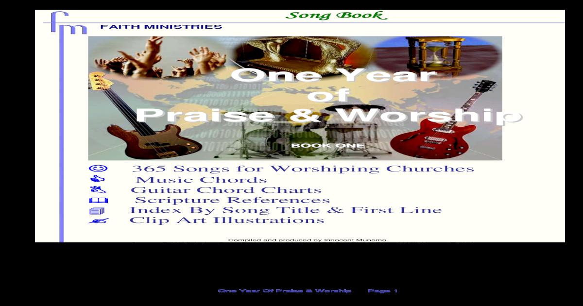 Faith Ministries Song Book 2 Pdf Document