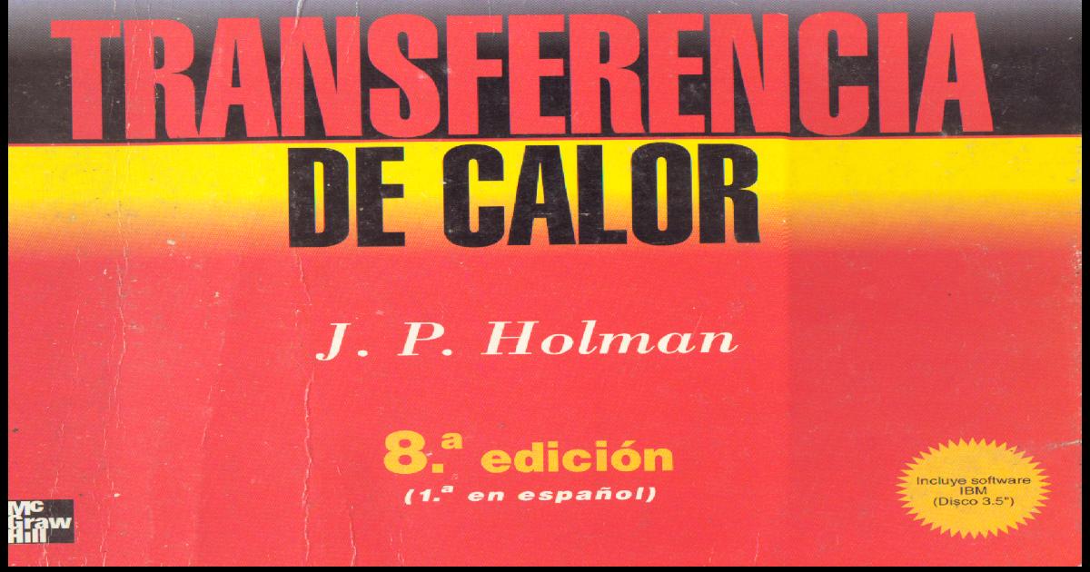 Solucionario Transferencia De Calor Manrique