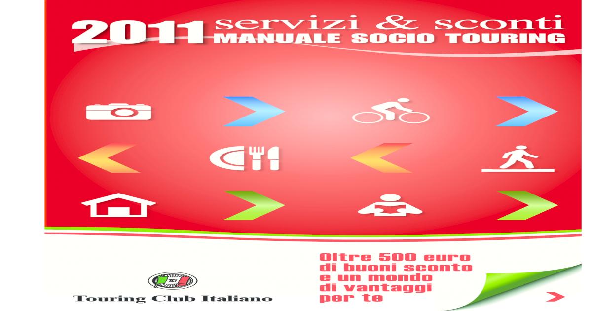Manuale socio tci 2011 pdf document fandeluxe Images