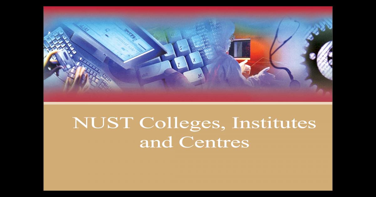 Colleges of NUST - [PDF Document]