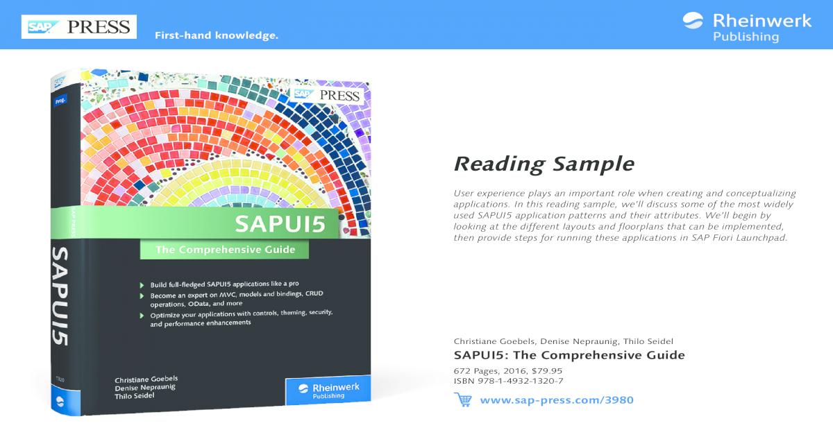 SAPUI5: The Comprehensive Guide (SAP PRESS) | Reading Sample - [PDF