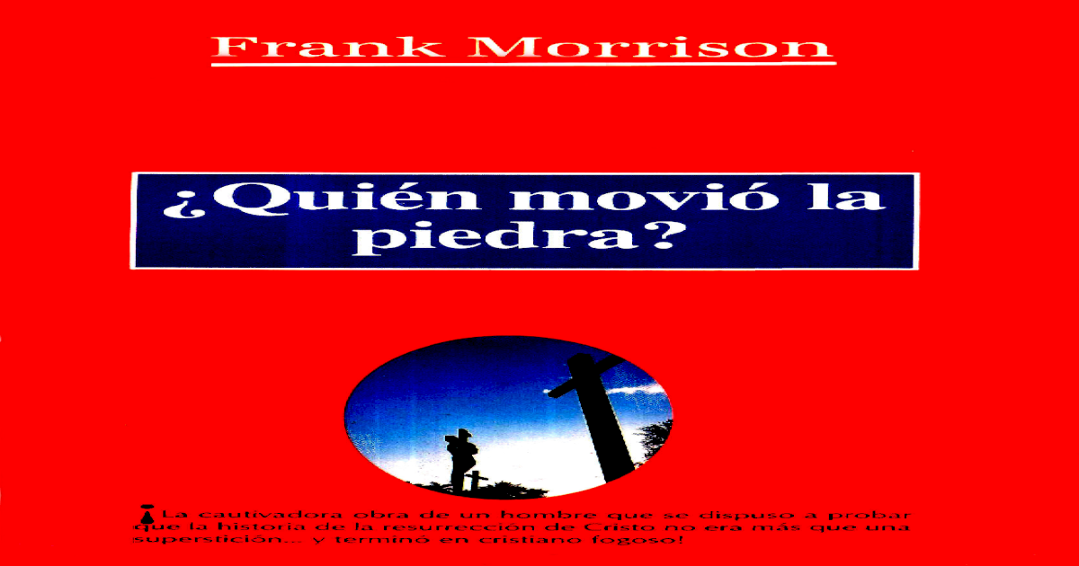 La quien pdf frank movio piedra morrison