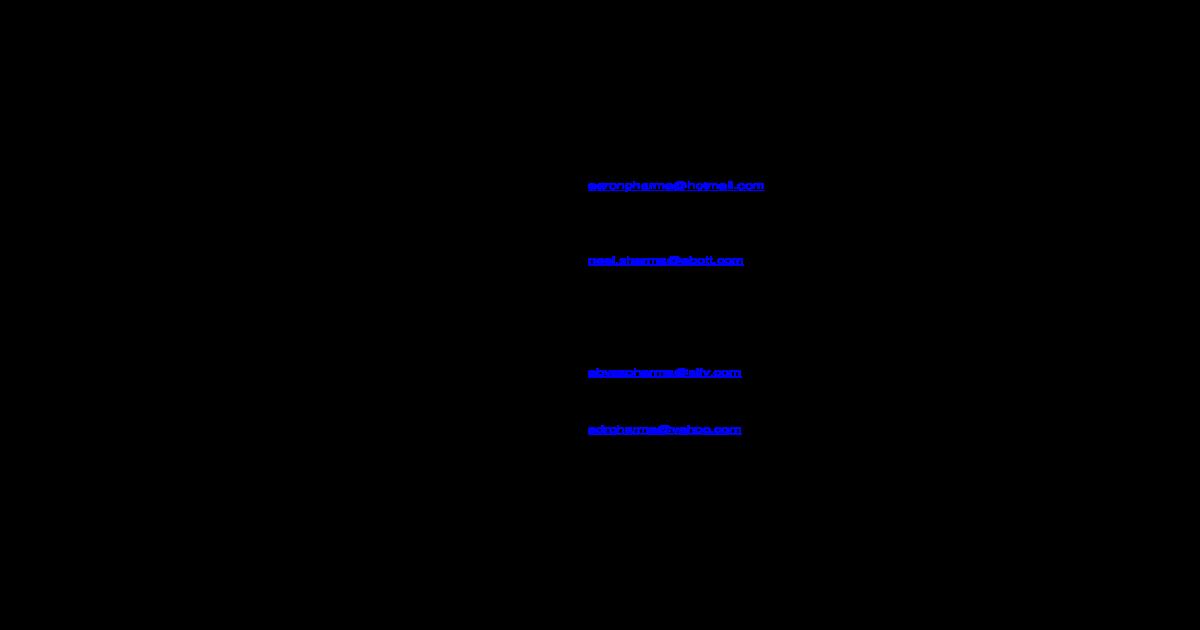 LIST OF PHARMEXCIL MEMBERS AS ON 28-11-2005     OF