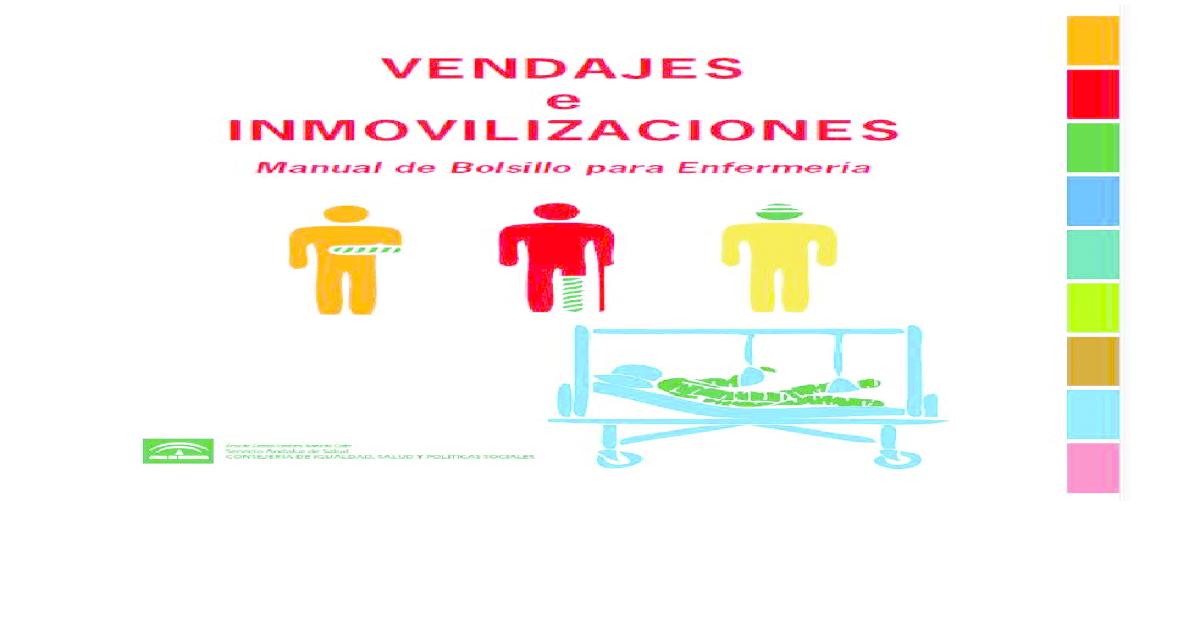 Vendajes e inmovilizaciones   manual de bolsillo para enfermera. -  PDF  Document  e49291352707