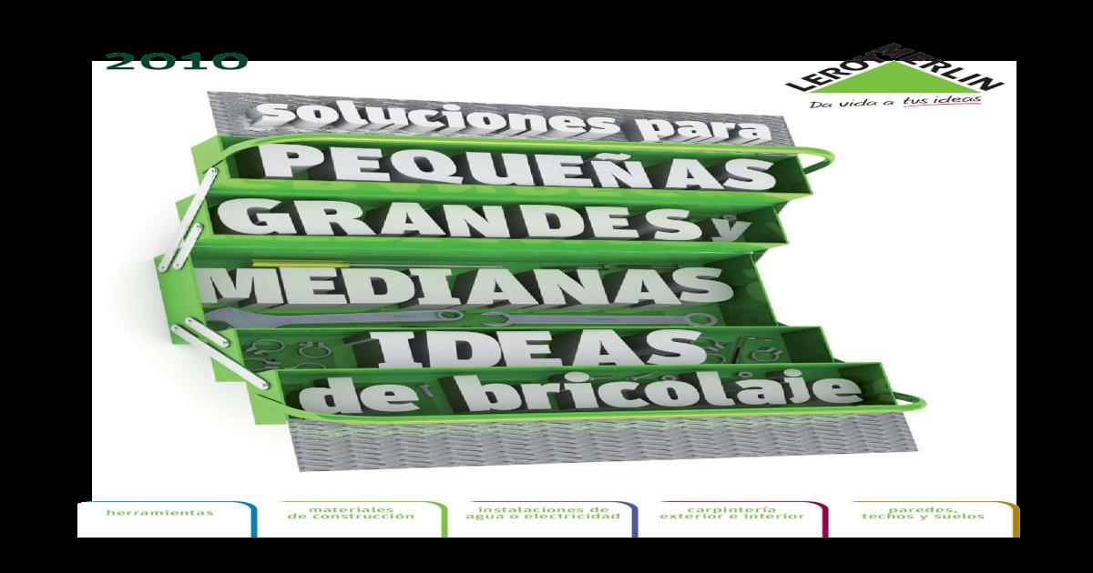 Bricolaje y Acondicionamiento Del Hogar -  PDF Document  f82c23940e8c