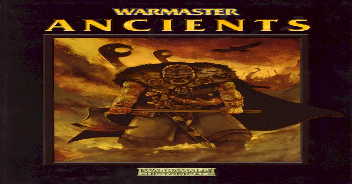 Warmaster Ancients Pdf