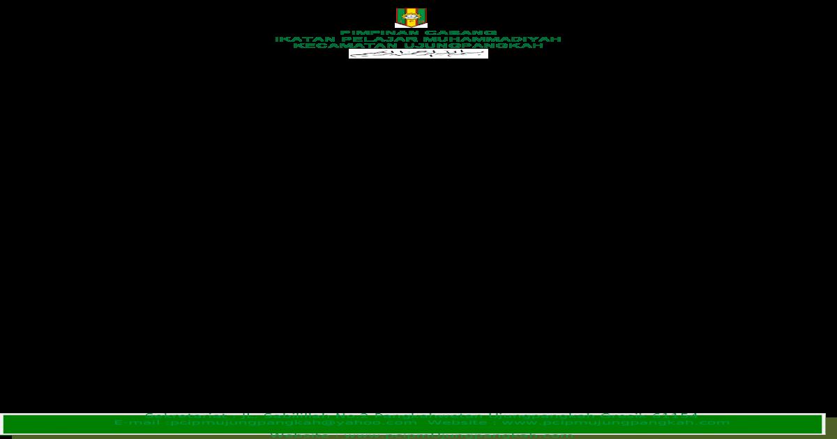 Contoh Surat Mandat Ipm