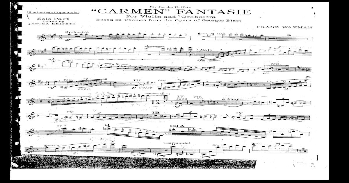 Carmen Fantasy Trumpet Pdf - dogforward's blog