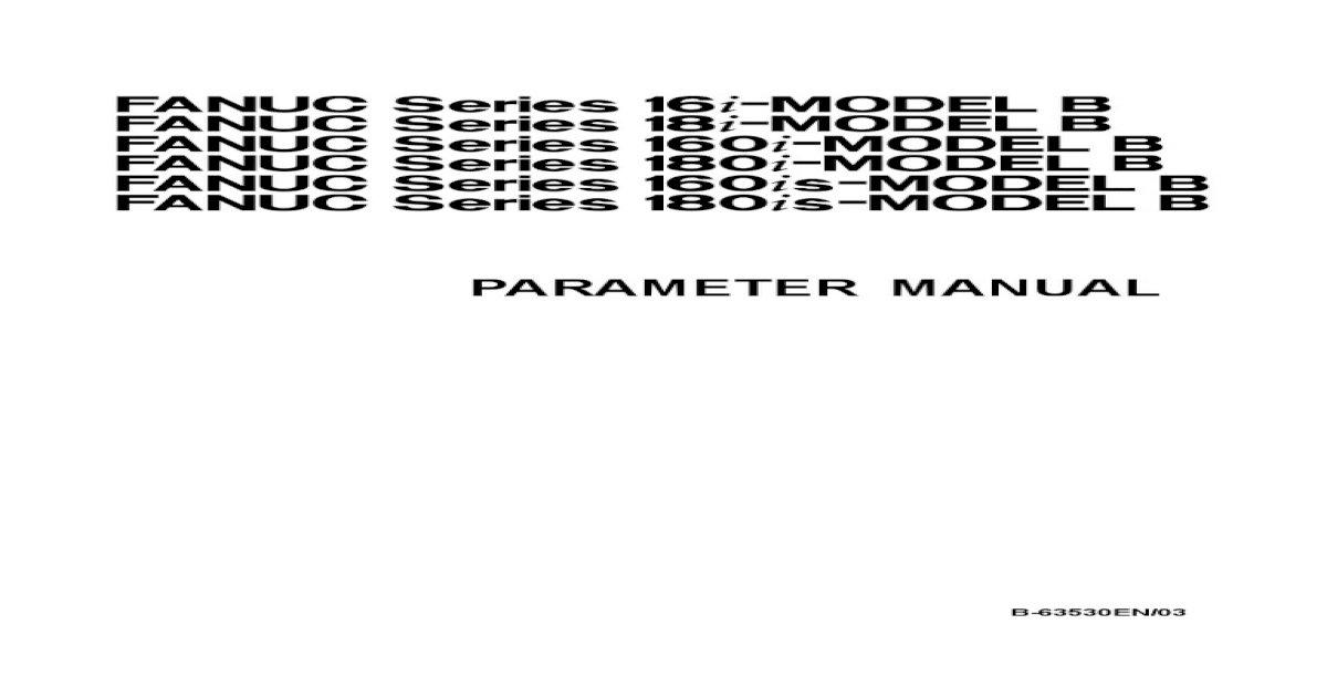 Fanuc 18i mb maintenance manual