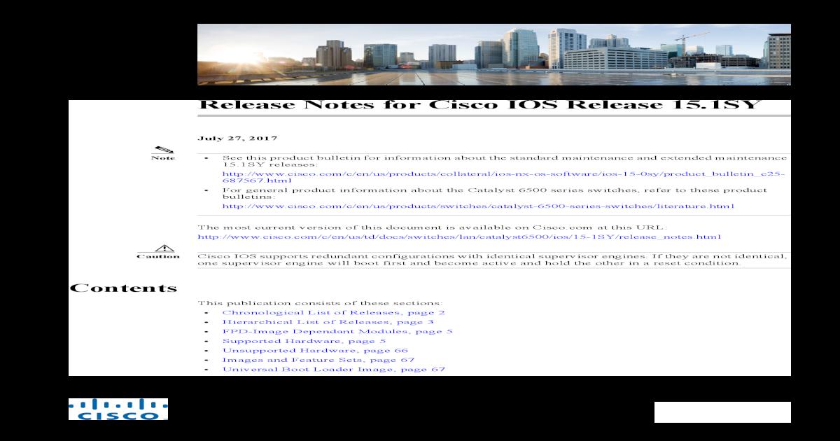Cisco 6807 Vss Configuration Guide
