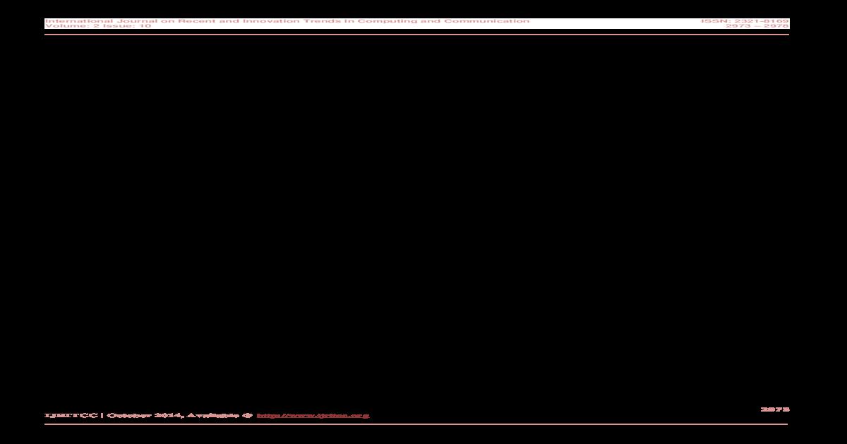 Rule Based Syntax Analyser for Telugu Poems - [PDF Document]