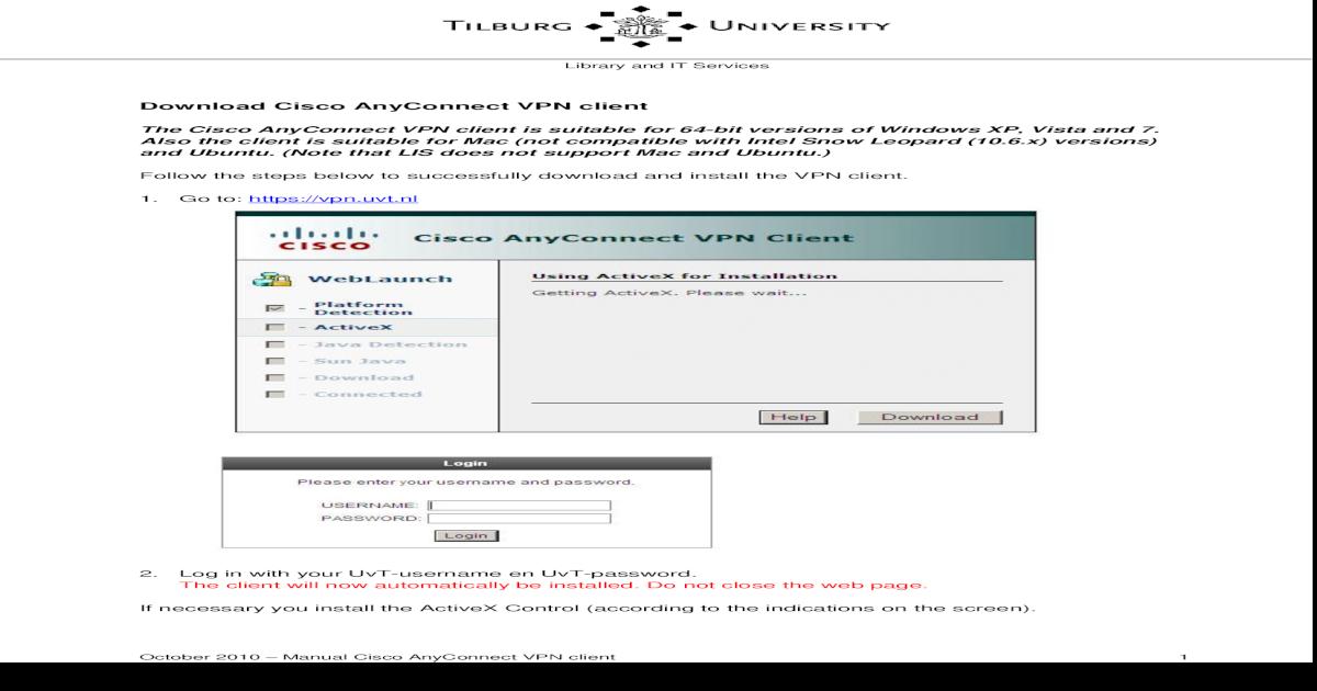 download cisco anyconnect vpn client ubuntu