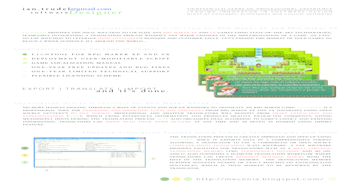 L10nTool for RPG Maker XP and VX - [PDF Document]