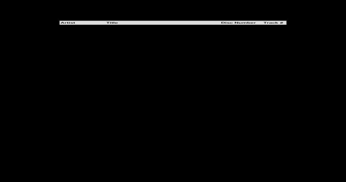 Songs by Artist through disc SC3052-04 - [PDF Document]