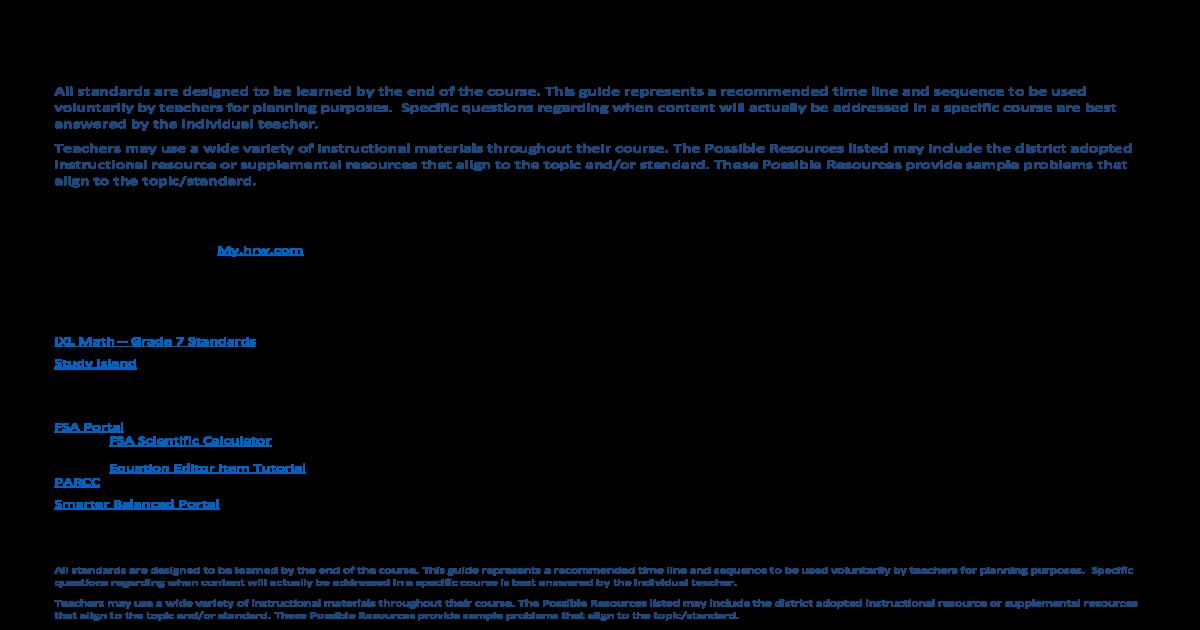 Grade 7 Mathematics 2016 2017 - [PDF Document]