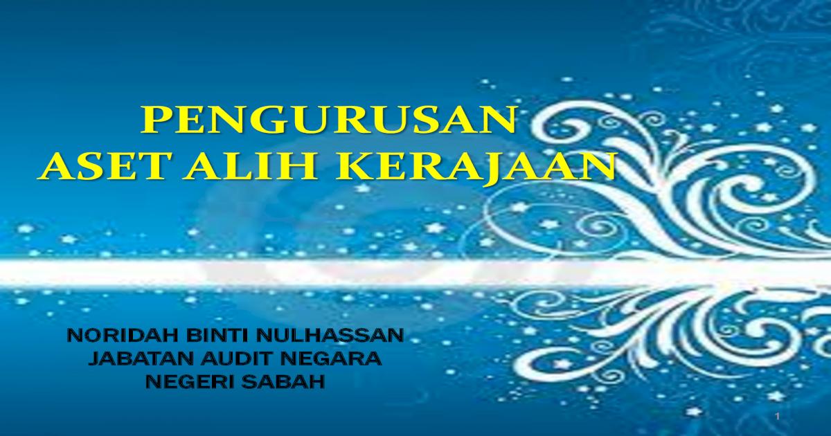 Pengurusan Aset Alih Kerajaan Ww2 Sabah Gov My Mlgh Lampiran Pengurusan Asetalih 2016 Pdflaporan Hasil Pemeriksaan Aset Alih Melapor Kerosakan Dalam Borang Aduan Kerosakan Kew Pdf Document