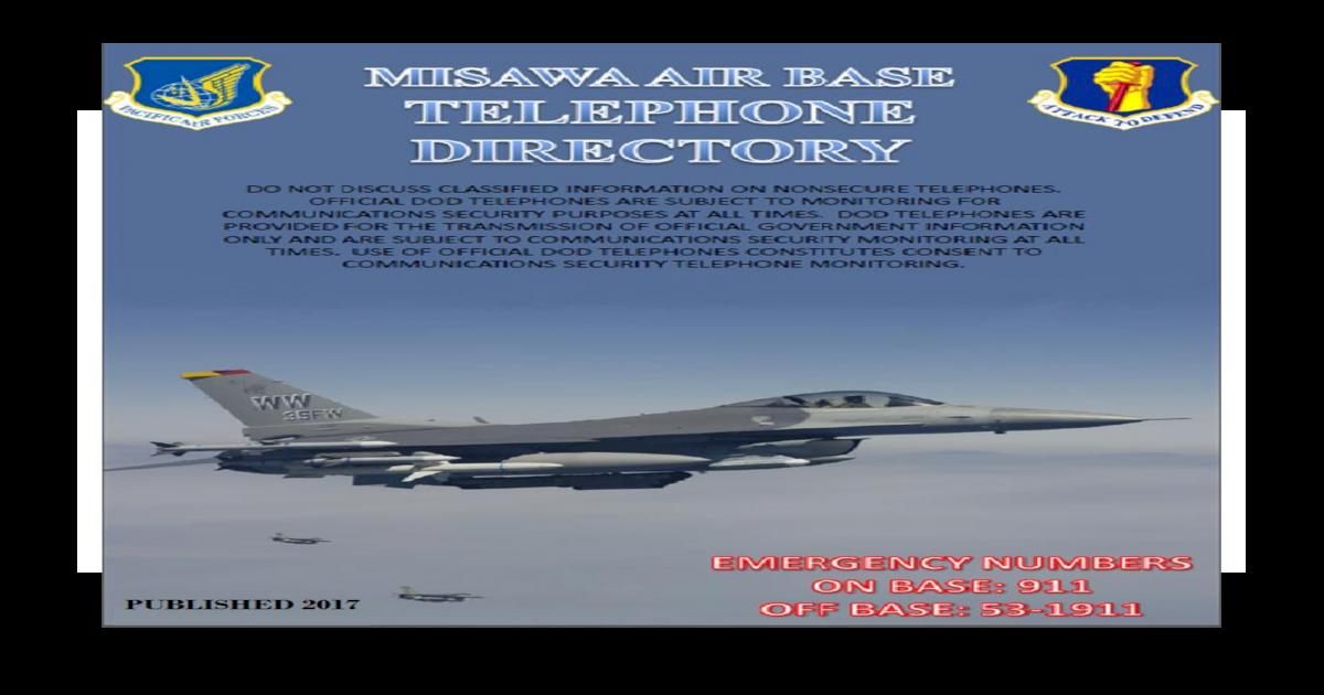 Kon'nichiwa (Good Afternoon) Visitor, - Misawa Air Kon