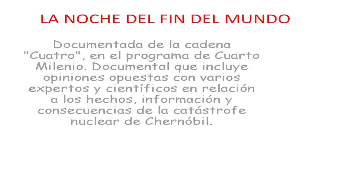 La noche del fin del mundo - [PDF Document]