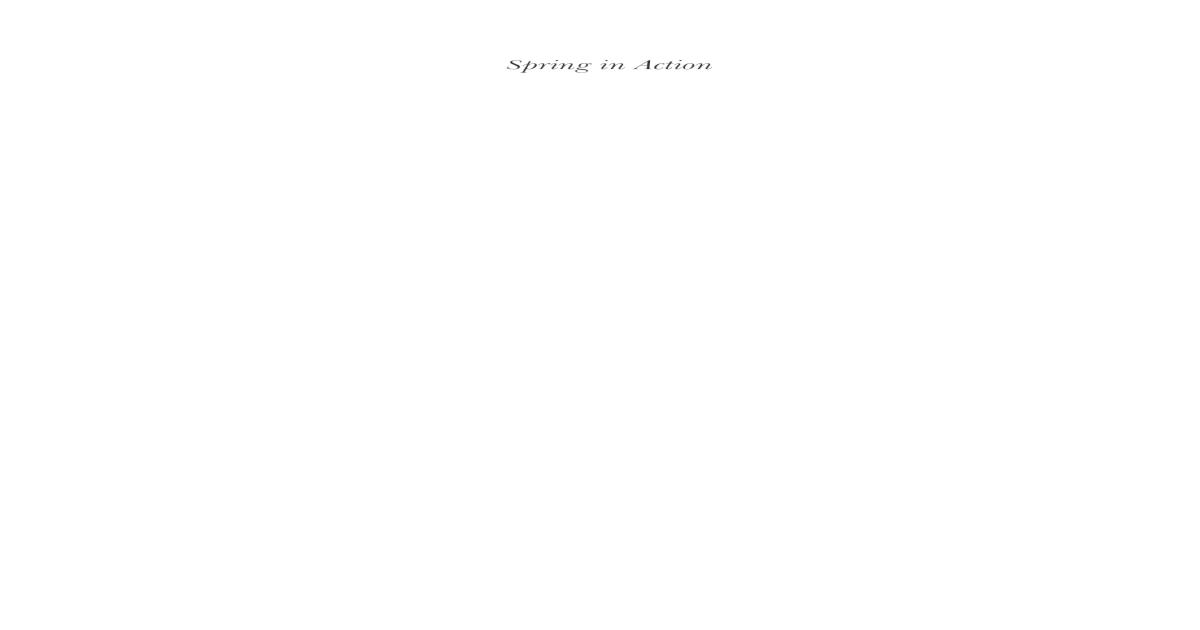 Spring Framework - [PDF Document]