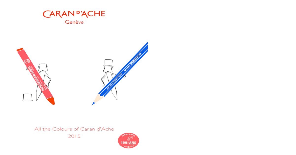 Caran d/'ache luminance 6901 singles haute qualité artiste crayons partie deux