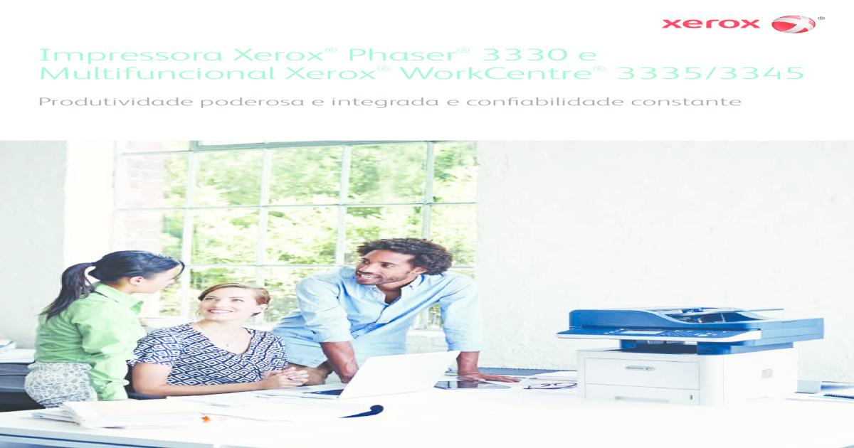 Xerox phaser 3330 e work centre 3335 3345 - [PDF Document]
