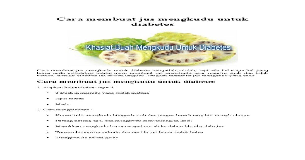 mengkudu untuk diabetes pdf