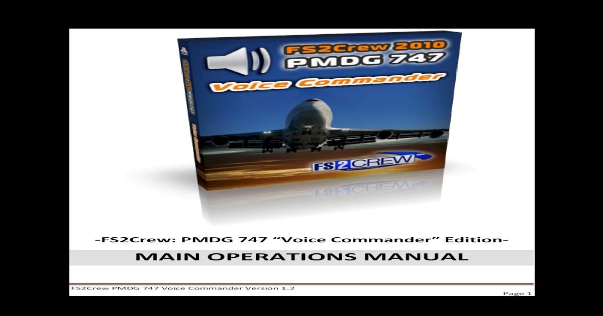 FS2Crew2010 PMDG 747 Main Ops Manual - [PDF Document]