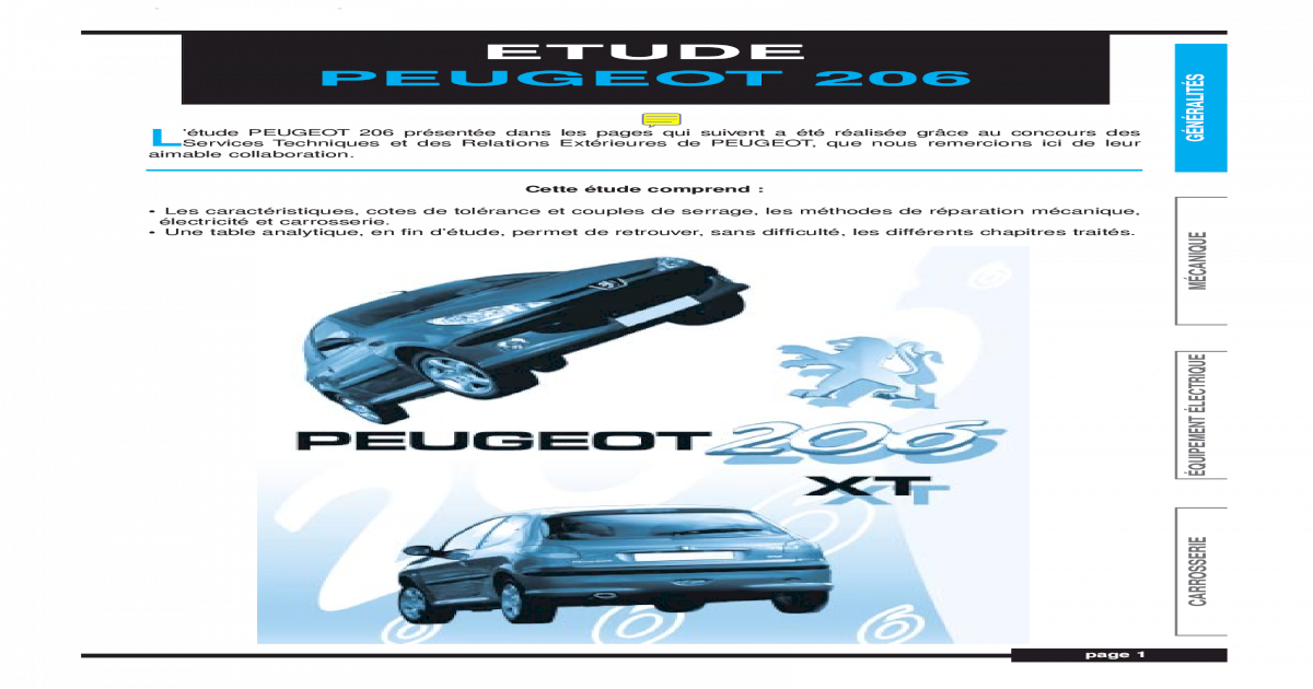 DROIT H4 PHARES FEUX AVANT PEUGEOT 206 1998-2003 XR XS XT HDI GAUCHE