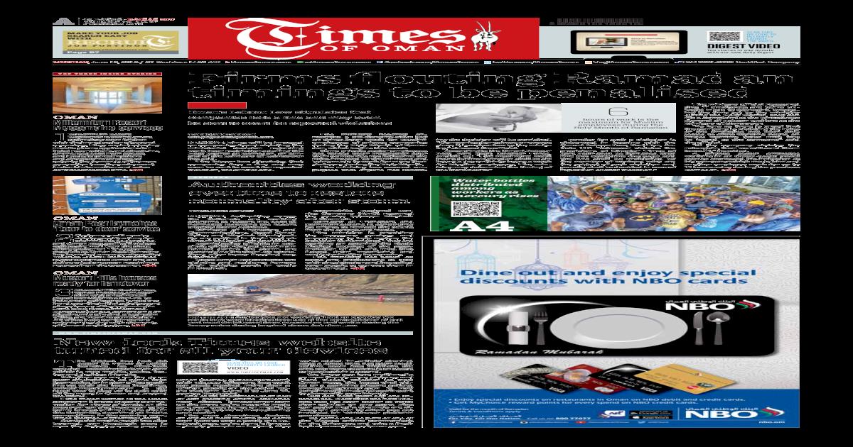 Times of Oman - June 15, 2015 - [PDF Document]