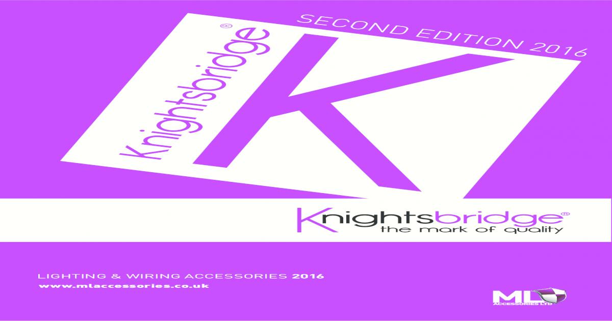 Knightsbridge Bathroom Wash Room Fan Isolator Switch 10A White 1G 3 Pole Switch
