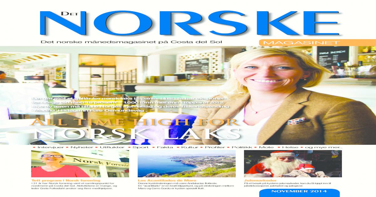 3d67be94d10 Det Norske Magasinet november 2014 - [PDF Document]