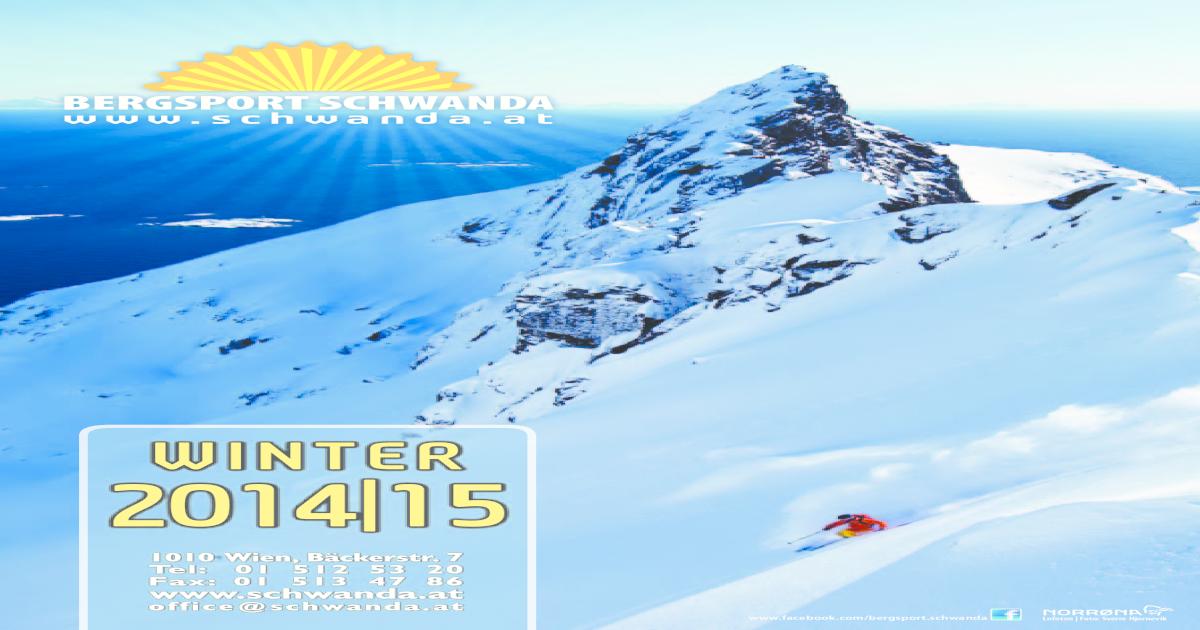 bergsport schwanda winterkatalog 2014 15 [pdf document]Julbo Brillen Montebianco Sonnenbrille Blau Mit Camel Lens P 649 #17