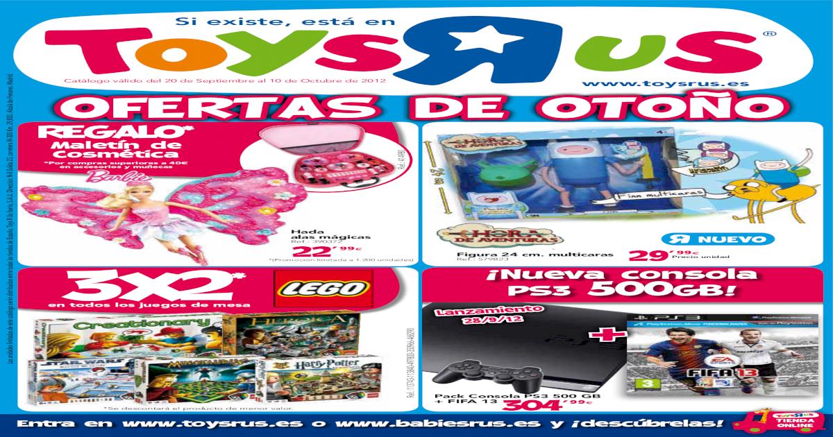 Catalogo Toysrus Ofertas Otoo 2012 Pdf Document