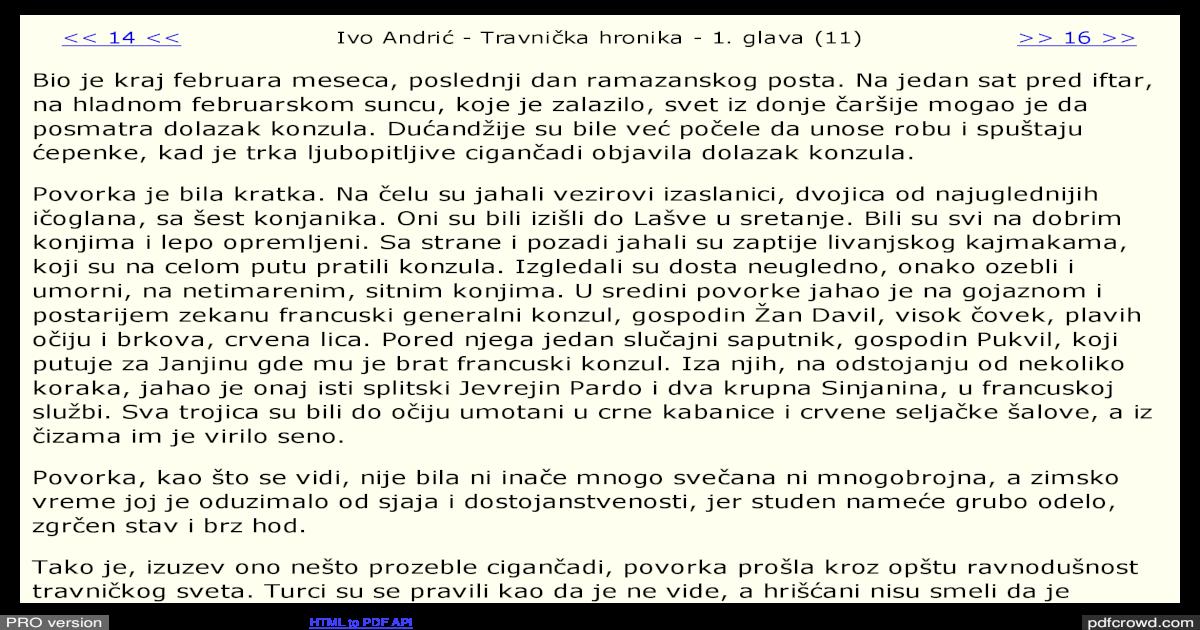 Travnicka Hronika Pdf