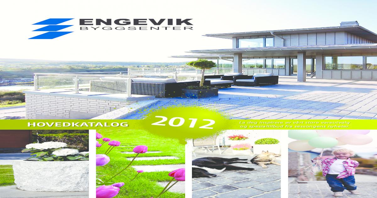 7403b7fa2 Engevik Byggsenter 2012 - [PDF Document]