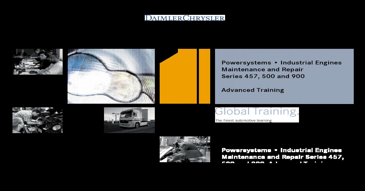 Mantenimiento Mercedes OM 457 - [PDF Document]
