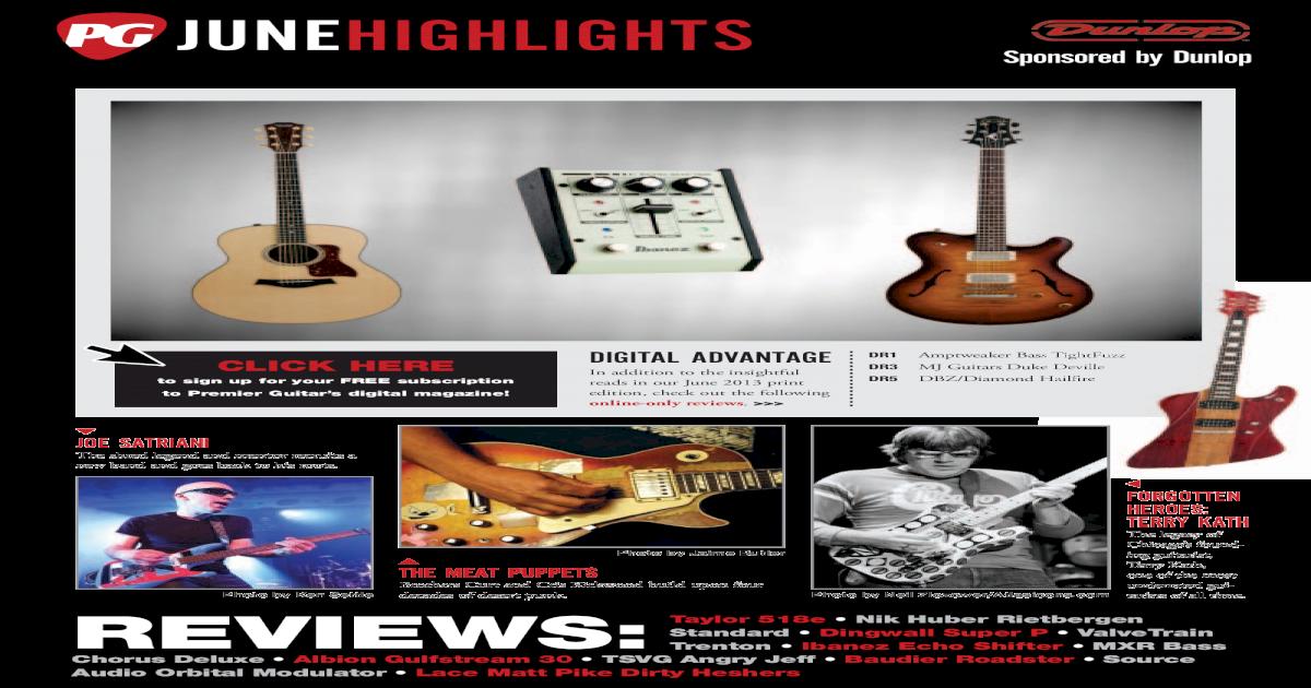 45aa57f8ad Premier Guitar Volume 18 Issue 6 June 2013 - [PDF Document]
